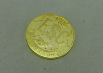 Military Awards Personalized Coins / Air Force Challenge Coins 2 - 6mm Thickness