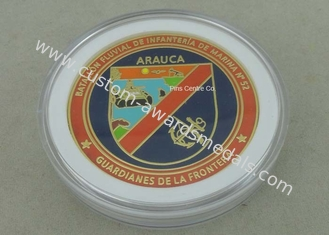 China Custom Die Casting Enamel Antique Metal Coin Soft Navy Hard Enamel Silver Air Force USA USN Coin Souvenir Challenge Coin supplier