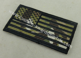 China US Army Patches , Custom Embroidery Patches For Club And Uniform supplier