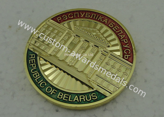 China Customized Challenge Coin , 3D Brass Army Souvenir Metal Coin supplier