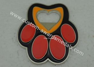 China Metal Soft Enamel Medal Sport Medallion 3.0 Inch Logo Customized supplier