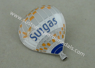 China Promotional Die Struck Sungas Balloon Soft Enamel Pin With Epoxy supplier