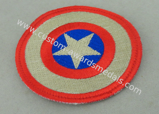 China Custom Embroidery Fabric Iron Monkey Look Patch for Garment Washable supplier