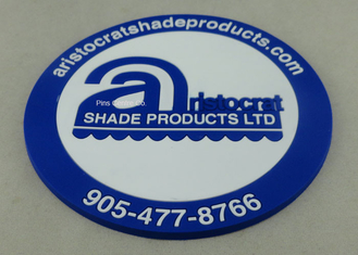 China Business 2D EVA / Rubber / PVC Coaster Round Shape Dia 7 - 9cm supplier