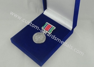 China Zinc Alloy 3D Custom Medal Awards With Antique Silver Plating supplier