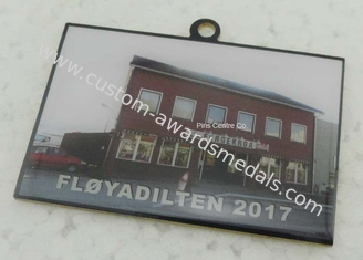 China Offset Printing Ribbon Custom Awards Medals With Stainless Steel Material supplier