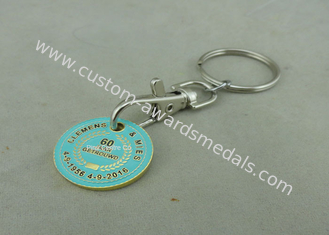 China Iron Zinc Alloy Supper Market Trolley Coin , Customized Soft Enamel Coin supplier