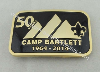 China Camp Bartlett Custom Made Buckles Zinc Alloy  With Wiped Imitation Hard Enamel supplier