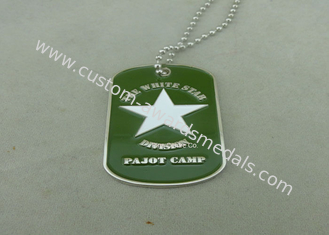 China Green Personalised Dog Tags Die Casting Zinc Alloy Bottle Opener supplier