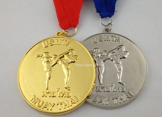 Gymnastics Metal Die Cast Medals  ,  Zinc Alloy Custom Gold Medals