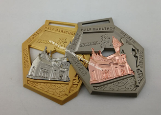 Royal Agricultural Awards Custom Event Medals 3D Antique  Plating