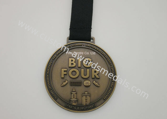 Durable Die Casting Medals , 3D Cycling Or Volleyball Medals And Awards