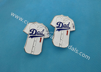Cute Custom Soft Enamel Pin With Iron , Football T - Shirt Badge Pins