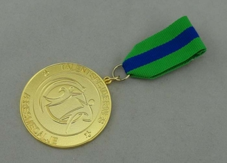 China Talentspejdernes Custom Awards Medals by Zinc Alloy Die Casting , Box Packing And Gold Plating supplier