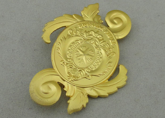 China Signum Fidei Souvenir Badges By Brass Stamped 3D Misty Brooch On Back supplier