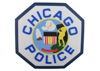 China Custom Chicago Police 2D PVC Coaster, Custom Drink Coasters For Beverage, Beer factory