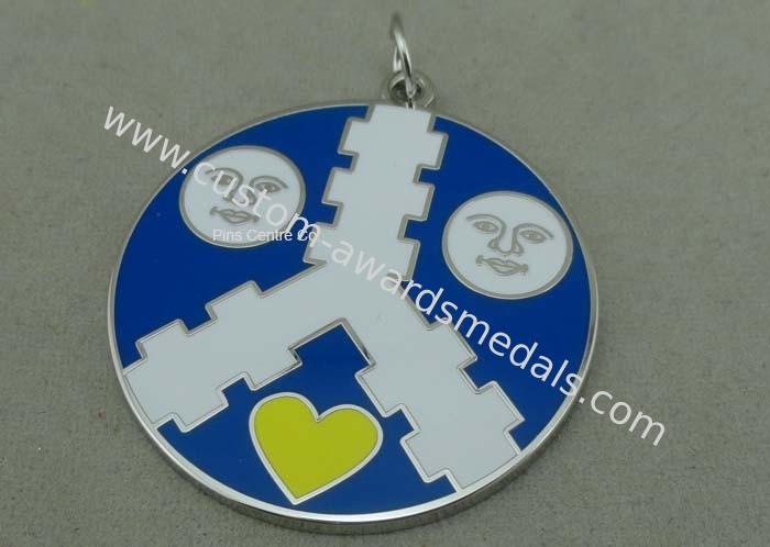 3D Carnival Hard Enamel Medal Personalized Multi Piece