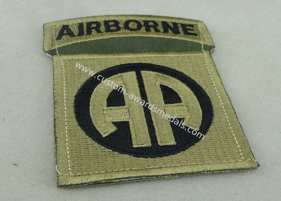 China Toys And Packages Air Borne Patches Woven Label For American Military distributor