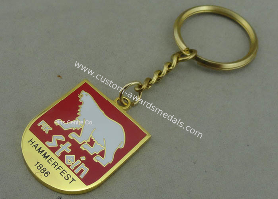 China Hard Enamel Promotional Keychain distributor