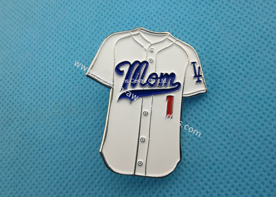 China Business Promotion Iron Mom Soft Enamel Pin / Personalised Metal Pin Badges factory