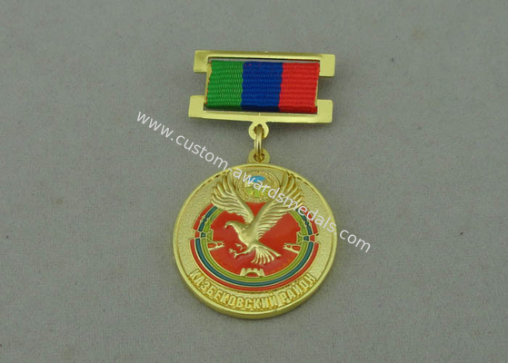 China Military Custom Awards Medals Zinc Alloy 2 Pcs Combined Double Side 3D distributor